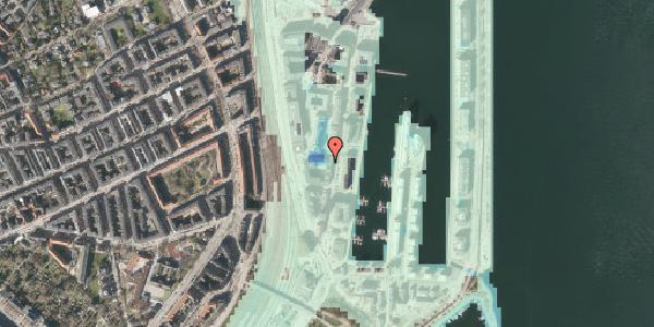 Stomflod og havvand på Amerika Plads 3A, 4. tv, 2100 København Ø