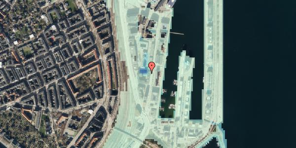 Stomflod og havvand på Amerika Plads 3A, kl. 6, 2100 København Ø