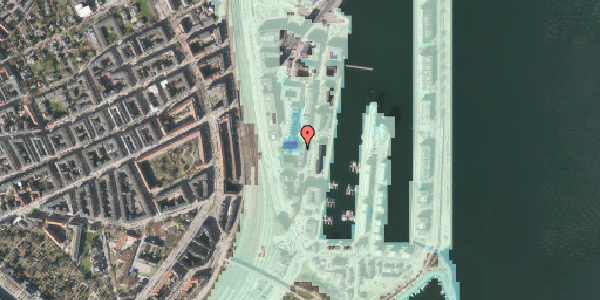 Stomflod og havvand på Amerika Plads 3A, 1. th, 2100 København Ø