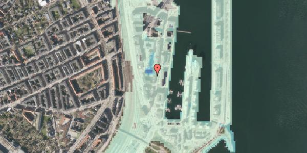 Stomflod og havvand på Amerika Plads 3B, 6. tv, 2100 København Ø