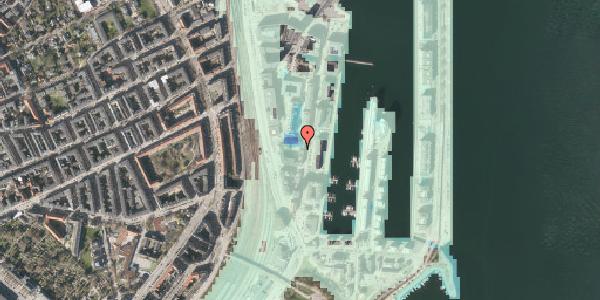 Stomflod og havvand på Amerika Plads 3B, 4. tv, 2100 København Ø
