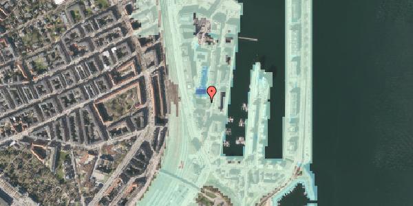 Stomflod og havvand på Amerika Plads 3C, 2. tv, 2100 København Ø