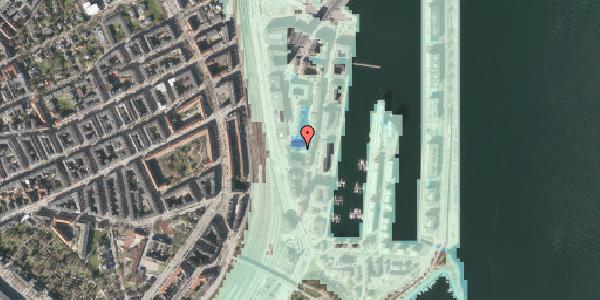 Stomflod og havvand på Amerika Plads 3E, 5. tv, 2100 København Ø
