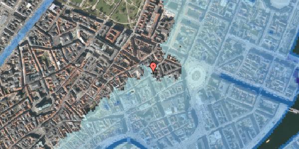 Stomflod og havvand på Kristen Bernikows Gade 8, 1105 København K