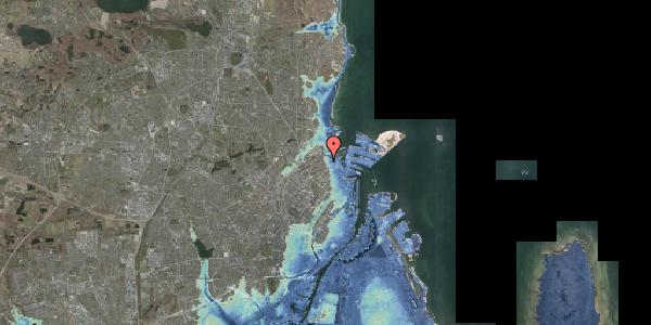 Stomflod og havvand på Nygårdsvej 3D, 2100 København Ø