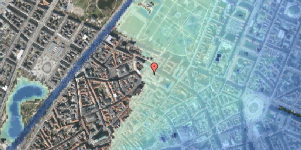 Stomflod og havvand på Landemærket 10, 1119 København K