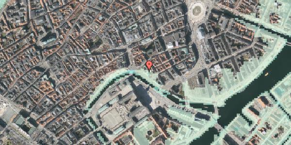 Stomflod og havvand på Ved Stranden 16, 1. tv, 1061 København K
