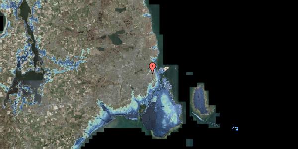 Stomflod og havvand på Vermundsgade 40, 4. tv, 2100 København Ø