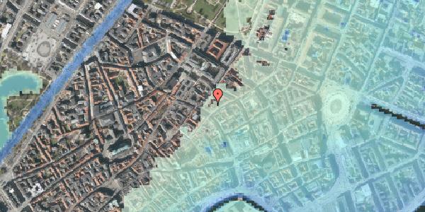 Stomflod og havvand på Kronprinsensgade 1C, 1114 København K