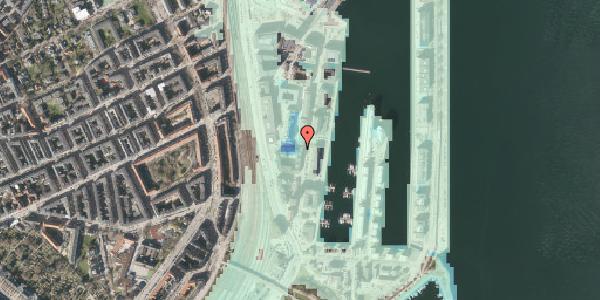 Stomflod og havvand på Amerika Plads 1, 2. , 2100 København Ø