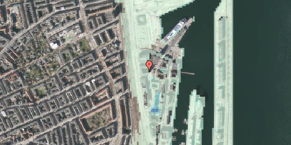 Stomflod og havvand på Amerika Plads 23, 8. mf, 2100 København Ø