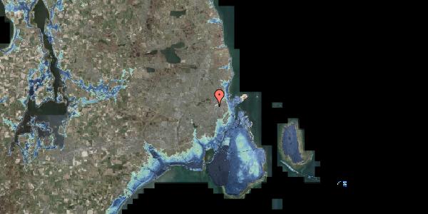 Stomflod og havvand på Bisiddervej 29, kl. , 2400 København NV