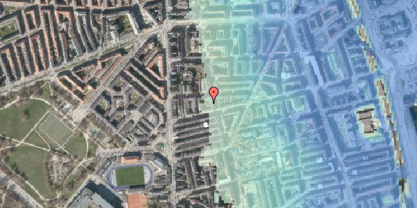 Stomflod og havvand på Koldinggade 14A, 2. , 2100 København Ø