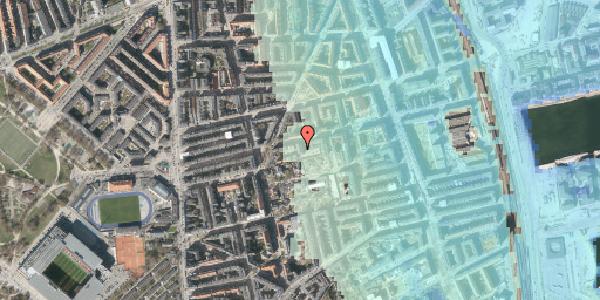 Stomflod og havvand på Viborggade 70B, st. , 2100 København Ø
