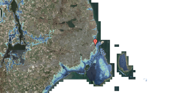 Stomflod og havvand på Jagtvej 171A, st. tv, 2100 København Ø