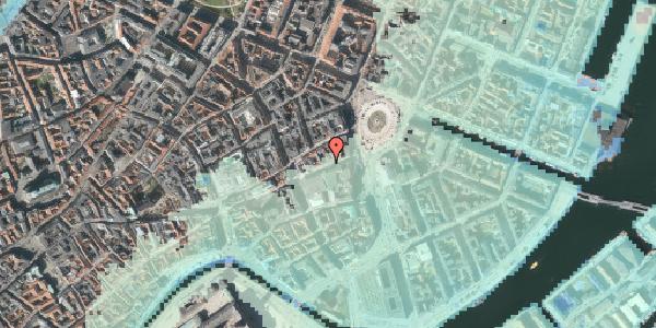 Stomflod og havvand på Lille Kongensgade 12, 4. tv, 1074 København K