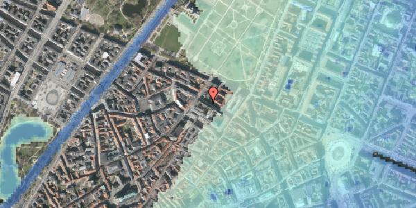 Stomflod og havvand på Vognmagergade 9, 1120 København K