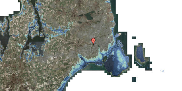 Stomflod og havvand på Bovneager 109, 2600 Glostrup
