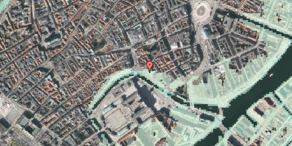 Stomflod og havvand på Ved Stranden 18A, 1061 København K
