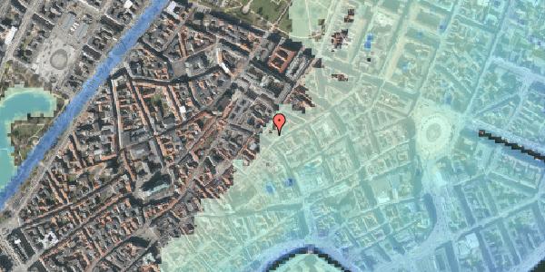 Stomflod og havvand på Kronprinsensgade 1A, 1114 København K