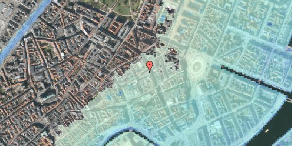 Stomflod og havvand på Antonigade 6, 1106 København K
