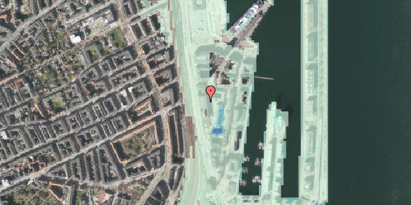 Stomflod og havvand på Amerika Plads 15, 2100 København Ø