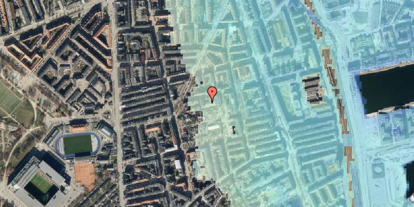 Stomflod og havvand på Viborggade 70D, 2. , 2100 København Ø