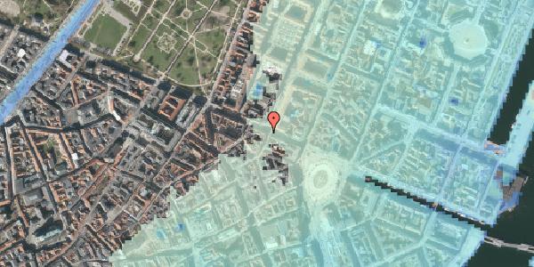 Stomflod og havvand på Gothersgade 21A, kl. , 1123 København K