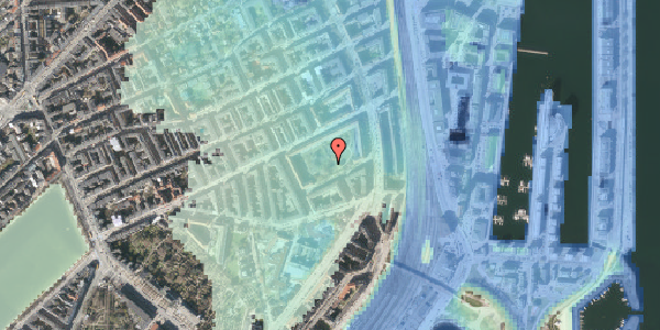 Stomflod og havvand på Arendalsgade 6F, 2100 København Ø