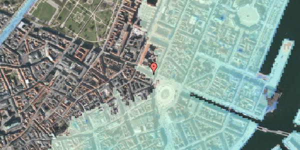 Stomflod og havvand på Gothersgade 5, 3. , 1123 København K