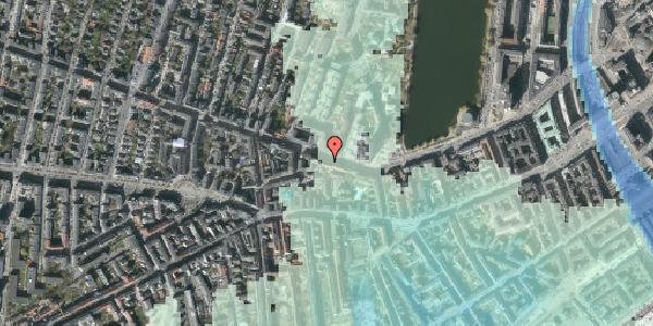 Stomflod og havvand på Gammel Kongevej 35, 1610 København V