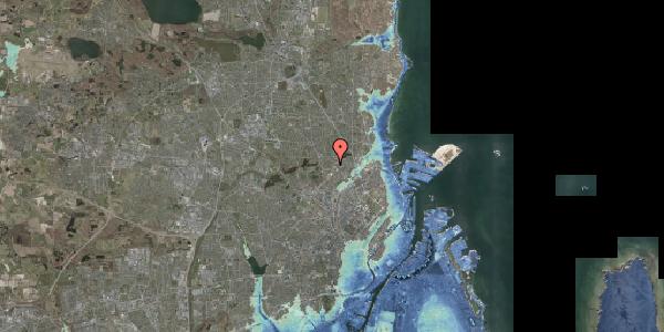 Stomflod og havvand på Magdelonevej 20A, 2400 København NV