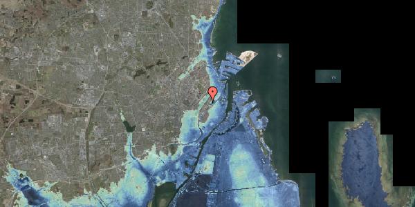 Stomflod og havvand på Øster Farimagsgade 10D, st. , 2100 København Ø