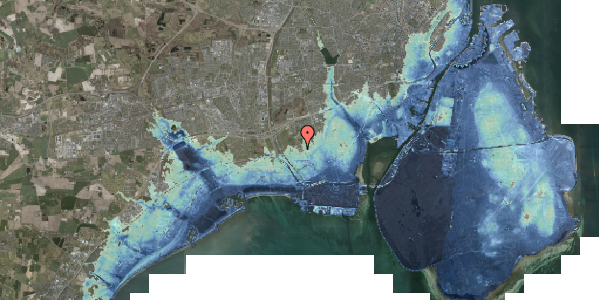 Stomflod og havvand på Alarmpladsen 6, 2650 Hvidovre