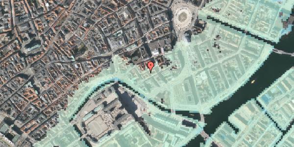 Stomflod og havvand på Dybensgade 19, 1071 København K