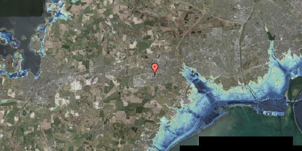 Stomflod og havvand på Spotorno Alle 8, 2630 Taastrup