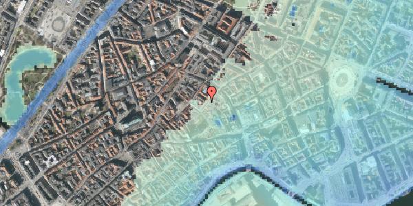 Stomflod og havvand på Valkendorfsgade 4, 1151 København K
