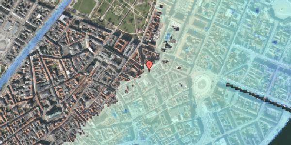 Stomflod og havvand på Sværtegade 11, 1. , 1118 København K