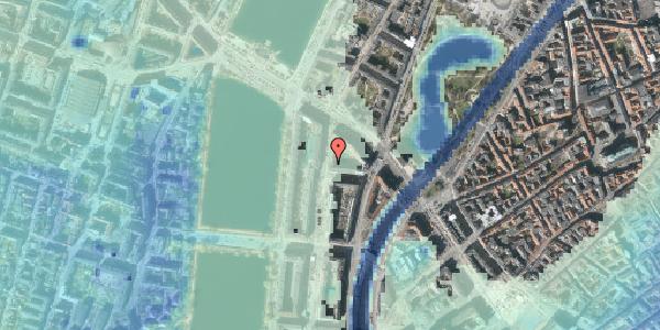 Stomflod og havvand på Nyropsgade 7, 3. , 1602 København V