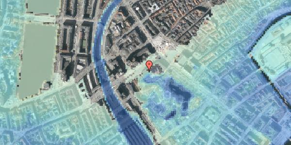 Stomflod og havvand på Vesterbrogade 1L, 1. , 1620 København V