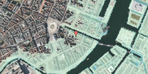 Stomflod og havvand på Nyhavn 12B, st. , 1051 København K