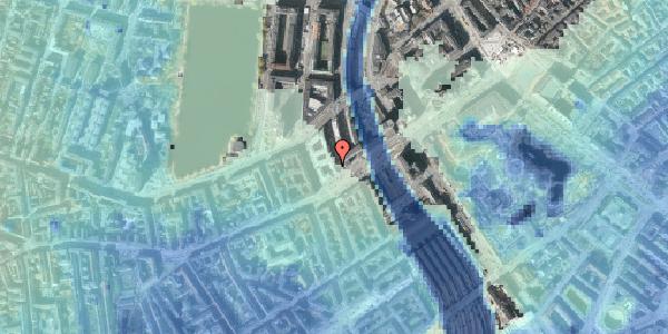 Stomflod og havvand på Meldahlsgade 1, 6. , 1613 København V