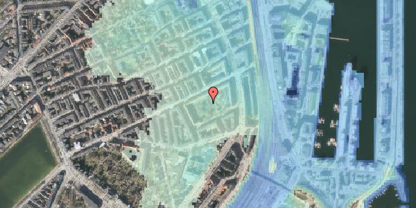 Stomflod og havvand på Arendalsgade 6A, 2100 København Ø