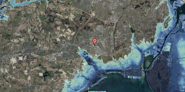 Stomflod og havvand på Firkløverparken 80, 2625 Vallensbæk