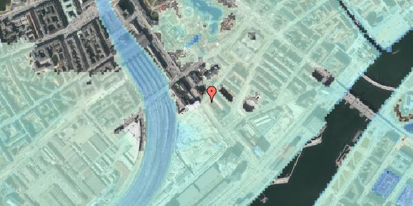 Stomflod og havvand på Stoltenbergsgade 11, 1576 København V