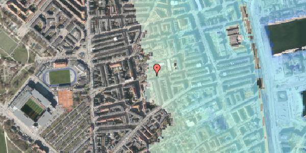 Stomflod og havvand på Gammel Kalkbrænderi Vej 9B, 2100 København Ø