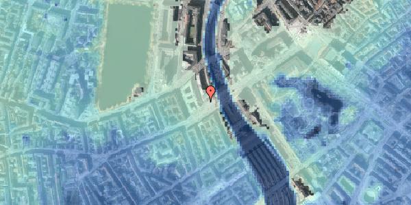 Stomflod og havvand på Vesterbrogade 6E, 1620 København V