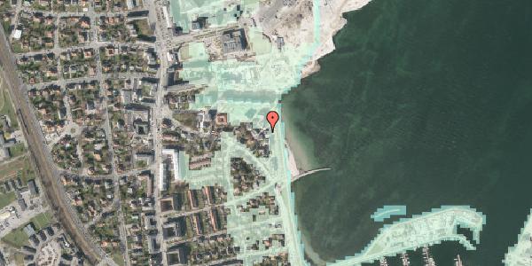 Stomflod og havvand på Strandpromenaden 61, st. , 2100 København Ø