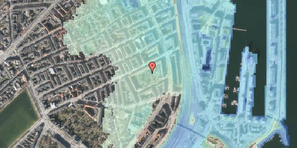 Stomflod og havvand på Arendalsgade 6B, 2100 København Ø