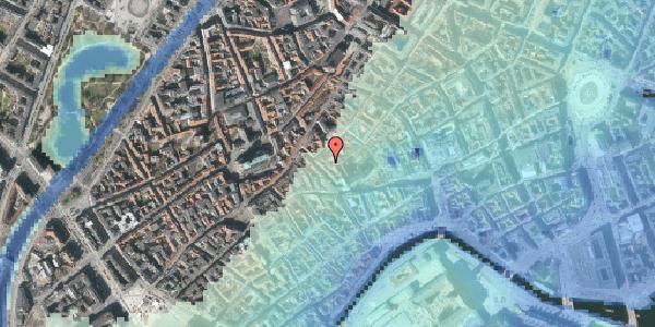 Stomflod og havvand på Gråbrødretorv 17A, 1. th, 1154 København K